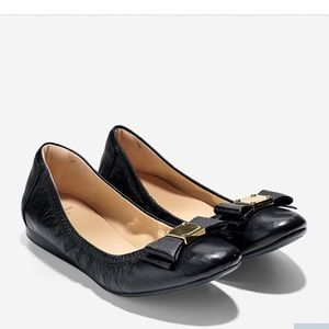 Cole haan bow flats
